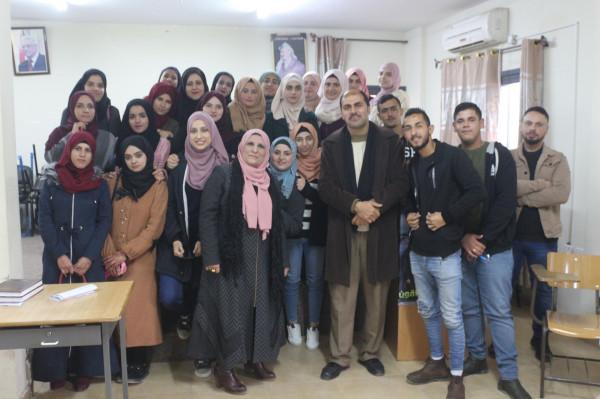 """جنين: """"الإعلام""""و""""القدس المفتوحة"""" تختتمان تدريبًا إعلاميًا"""