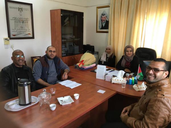 جمعية القمر الخيرية تهنئ مديرة مديرية التنمية الاجتماعية في أريحا
