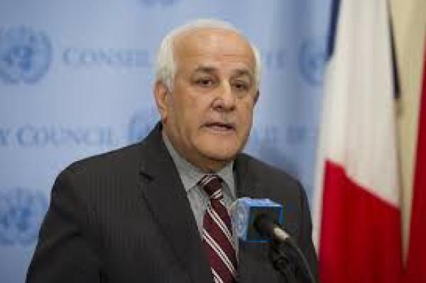 منصور: فلسطين تقود مشاورات حثيثة للتغلب على الاختلافات قبل انعقاد مؤتمر بيونس أيريس