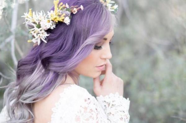 ألوان شعر عروس رائجة لشتاء 2019