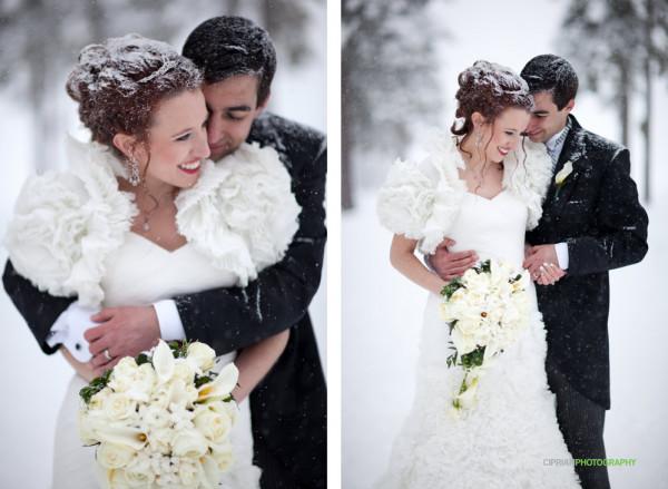 """5 احتياطات لـ""""عروس الشتاء"""" في ليلة العمر"""