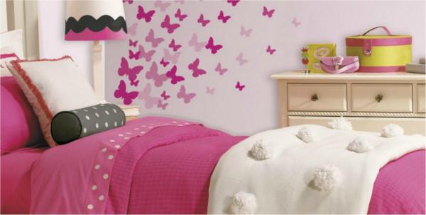 الفراشات تُحلّق في غرفة صغيرتكِ.. لا تتردّدي بتنفيذ الفكرة