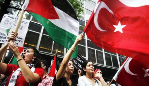 الجاليه الفلسطينيه في اسطنبول تنظم احتفاليه بمناسبه يوم المرأة