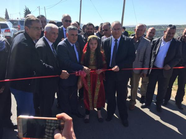 الأعرج يفتتح عددا من المشاريع التطويرية في محافظة بيت لحم