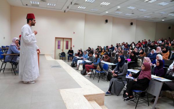 الجامعة العربية الامريكية تنظم محاضرة تعريفية بالطائفة السامرية