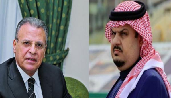 مشادة بين أمير سعودي وجمال ريان