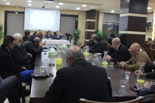 حزب التحرير يعقد لقاءً مفتوحاً مع الإعلاميين والكُتّاب بالخليل