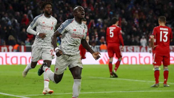 شاهد: ماني يتألق ويقود ليفربول لإقصاء بايرن ميونخ من دوري الأبطال