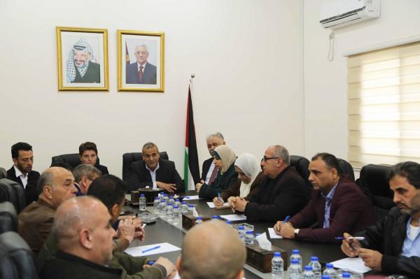 لقاء موسع يبحث أوضاع مستشفى الوكالة في قلقيلية