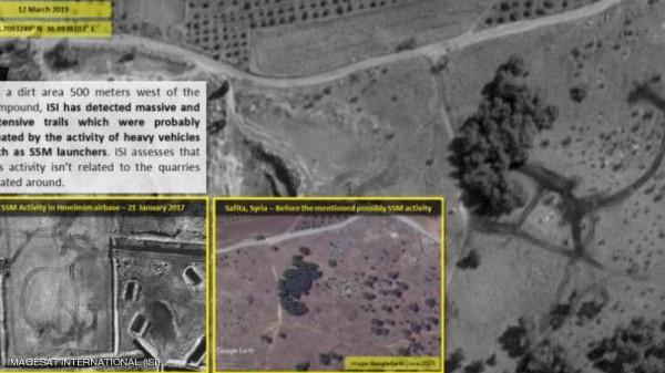 شاهد: صور فضائية إسرائيلية تكشف سراً عسكرياً في سوريا