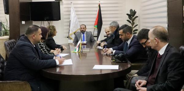 النائب العام يلتقي وفداً من منظمات حقوق الإنسان الإيطالية