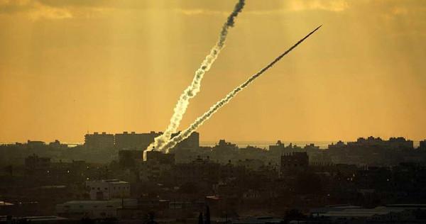 """إطلاق صاروخين من غزة تجاه """"تل أبيب"""""""