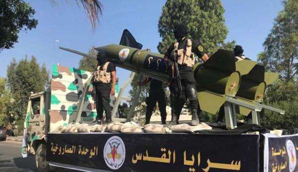 الجهاد الإسلامي تُعلّق على إطلاق صاروخين من غزة على تل أبيب
