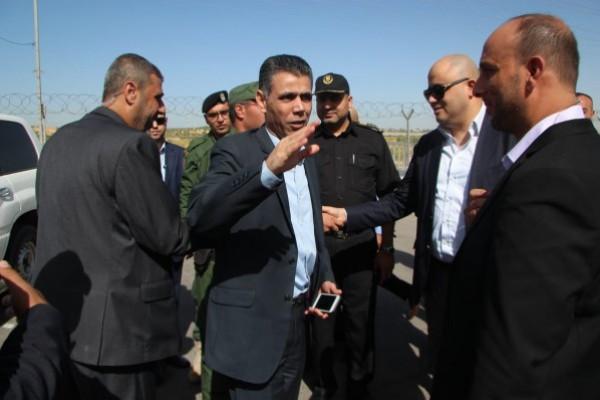 الوفد الأمني المصري يُغادر قطاع غزة عبر حاجز (إيرز)