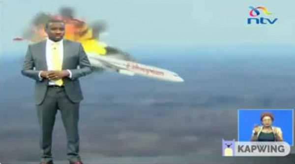 مزحة ثقيلة لمذيع تلفزيوني بشأن الطائرة الإثيوبية تجبر القناة على الاعتذار