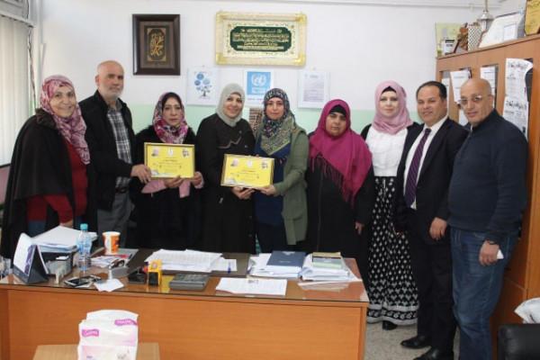 الاتحاد العام للمرأة الفلسطينية في البقاع يحتفي بيوم المعلم