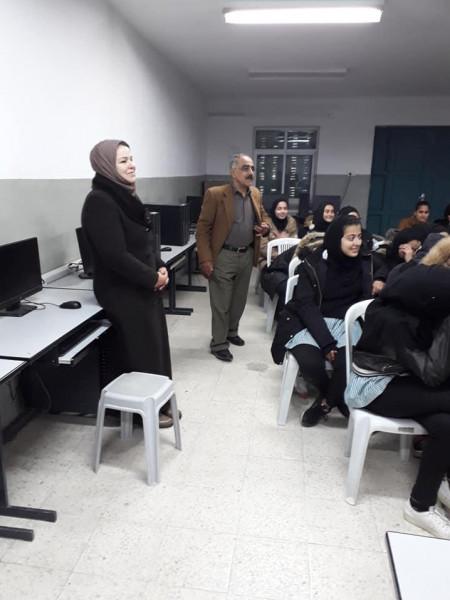 مكافحة التدخين تزور مديرية التربية والتعليم في مدينة حلحول