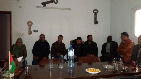 صور: لقاء بخانيونس لتعزيز دور منظمة التحرير الفلسطينية