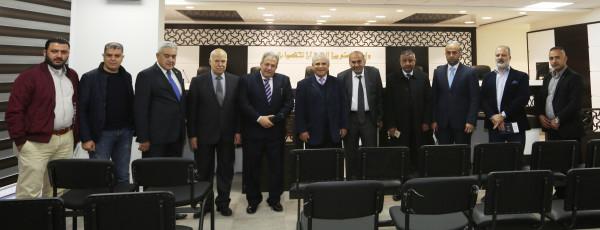 """""""القدس المفتوحة"""" والمحكمة الدستورية العليا تبحثان سبل التعاون المشترك"""