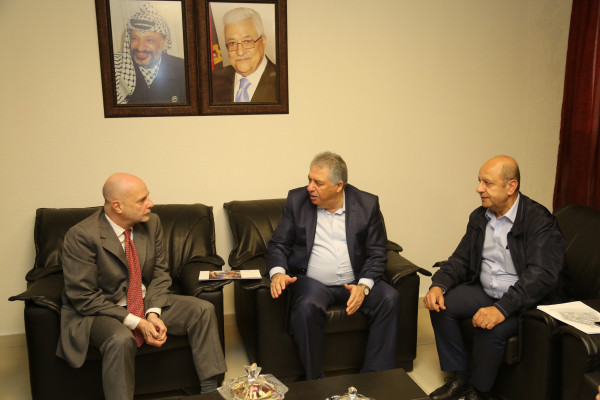 دبور يستقبل المدير العام لوكالة الاونروا في لبنان