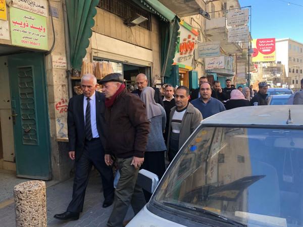 الاقتصاد تنفذ جولة في سوق بيت لحم في اليوم العالمي لحقوق المستهلك