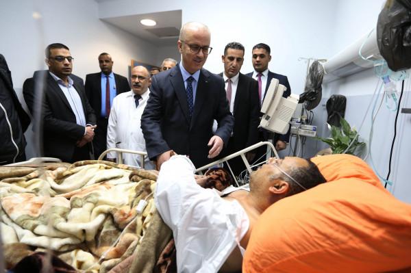 الحمد الله: الاعتداء على أبو سيف والشعب بغزة مرفوض من الكل الفلسطيني