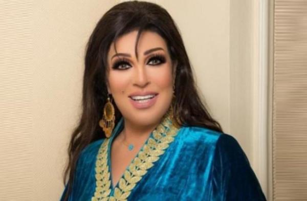 أول صورة لفيفي عبده بعد وعكتها الصحية