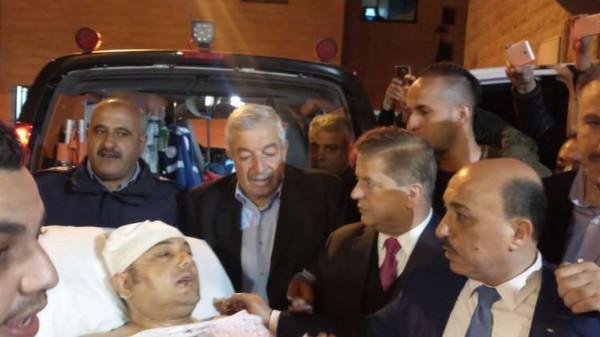 """مُجمع فلسطين الطبي يكشف عن الحالة الصحية لـ""""أبو سيف"""""""