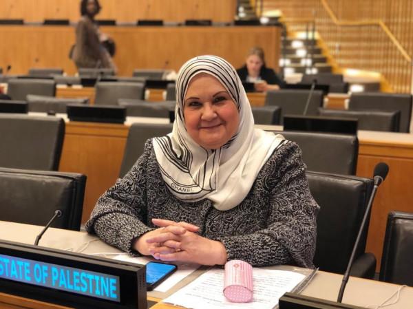 الأغا تُشارك في أعمال لجنة وضع المرأة في الأمم المتحدة