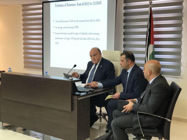 الكشف عن تفاصيل اجتماع بشارة بممثلين دوليين حول الوضع المالي للسلطة والرواتب