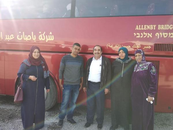 أريحا: الإسراء تودع قافلة جديدة للديار الحجازية