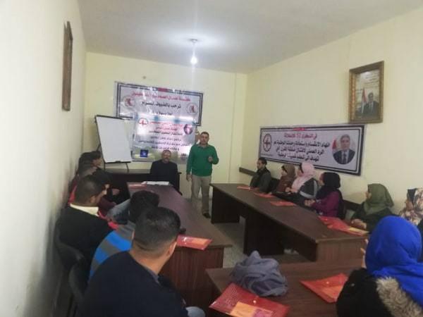 نضال الصحفيين تنظم دورة متخصصة في التحرير الصحفي