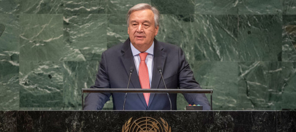 الديمقراطية تطالب غوتيريش بالوفاء بتعهداته بتوفير الحماية الدولية لشعبنا الفلسطيني