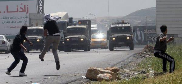مواجهات مع الاحتلال في جنين وقلقيلية