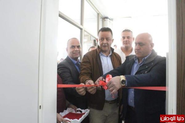 تربية جنين تفتتح قاعة مدرسة بتبرعٍ من رجل الأعمال محمد عمران