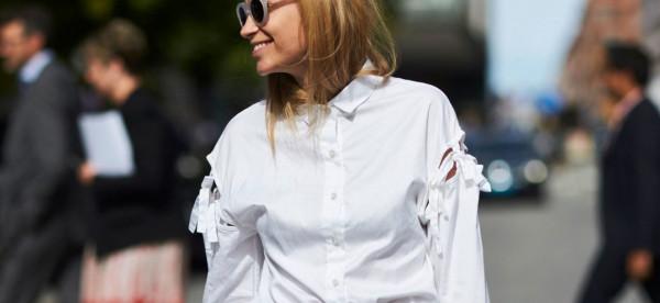 شاهدي طرق اعتماد القميص الأبيض في صيف 2019