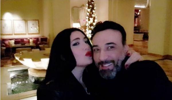 عبير صبري والمحامي الفلسطيني.. قصة حب وزواج بدأت بمعاكسة في حفل خيري