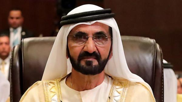 حاكم دبي يشكر رئيس وزراء نيوزيلندا بطريقة مميزة