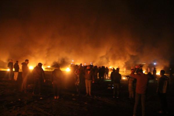 إحداها خطيرة.. إصابة ثلاثة مواطنين برصاص الاحتلال في فعاليات الإرباك الليلي
