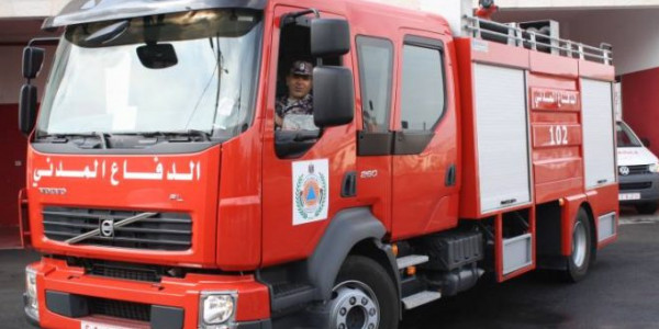 الدفاع المدني يتعامل مع 150 حادث إطفاء وإنقاذ خلال أسبوع