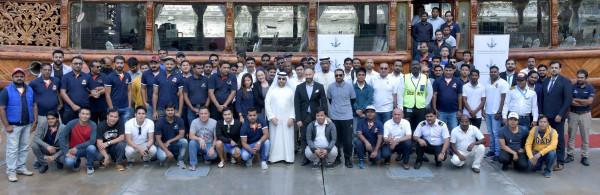 """""""سلطة دبي الملاحية"""" تنشر ثقافة سلامة الحياة في البحر بمشاركة واسعة"""