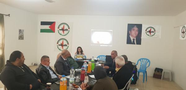 """جبهة النضال و""""مفتاح"""" بطولكرم ينظمان ورشة حول """"مشروع الدستور الفلسطيني"""""""