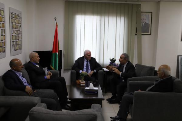 الجبهة العربية الفلسطينية تؤكد على اهمية مشاركة الجميع بالحكومة الجديدة
