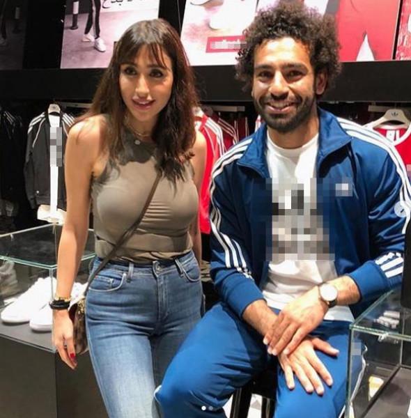 الفنانة جيسي عبدو تكشف تفاصيل لقائها مع محمد صلاح في دبي