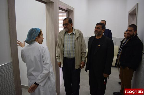 وفد مكتب اللاجئين زار مستشفى الراعي في صيدا