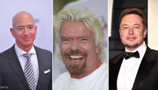 أول تريليونير في العالم.. 3 رجال فقط بالسباق التاريخي