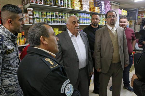 ابو العسل: حماية المستهلك الفلسطيني تحتل سلم اولوياتنا