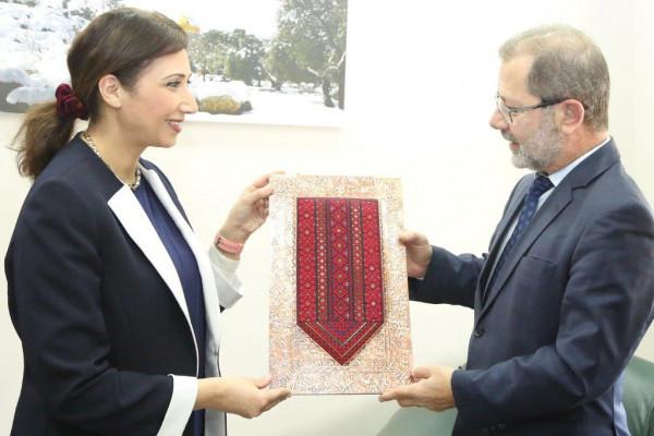 رئيس الاحصاء البلغاري يقوم بزيارة رسمية للاحصاء الفلسطيني