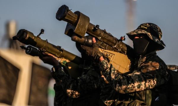 سرايا القدس تنشر فيديو لرشقات صاروخية على غلاف غزة