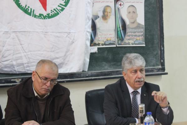 مجدلاني يطالب المجتمع الدولي تحمل مسؤولياته بتوفير الحماية الدولية للشعب
